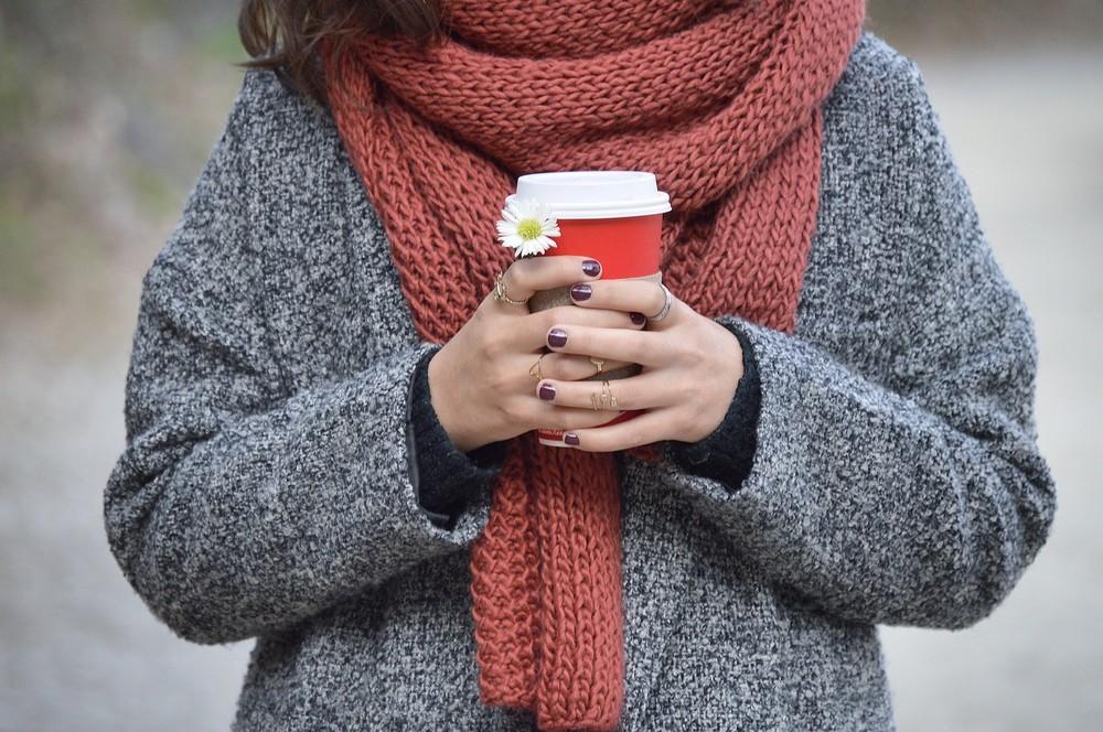 De simpelste manier om een sjaal te maken