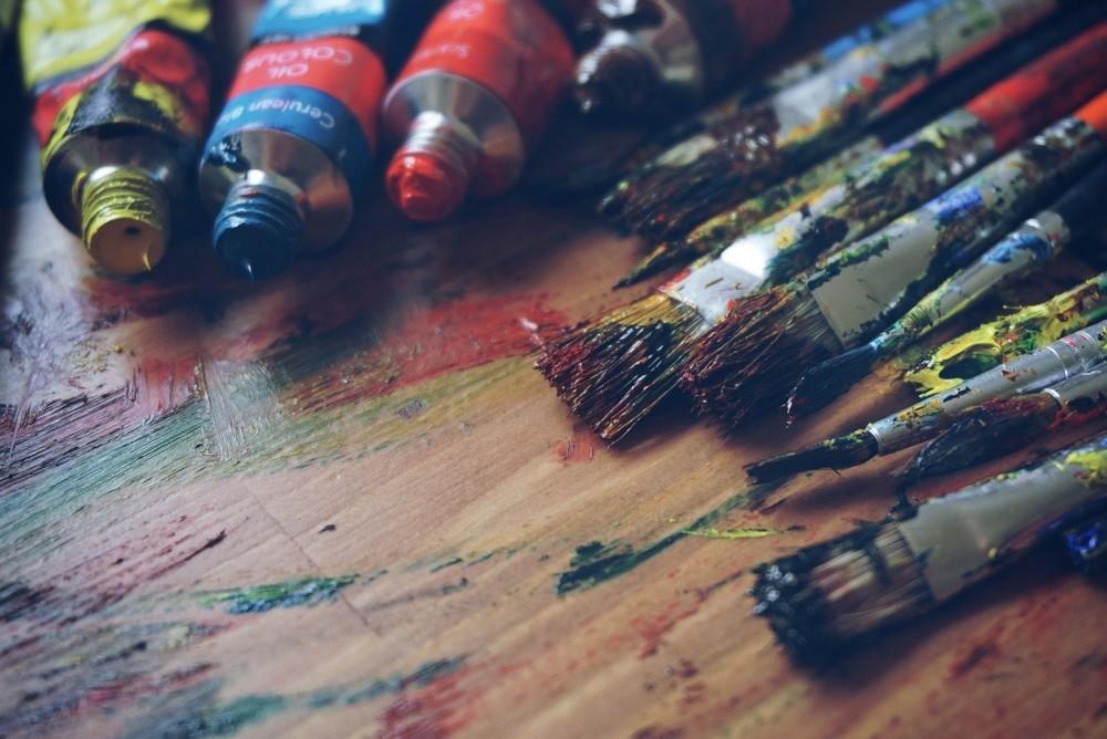 Zo maak je zelf simpel en goedkoop kunst voor in huis